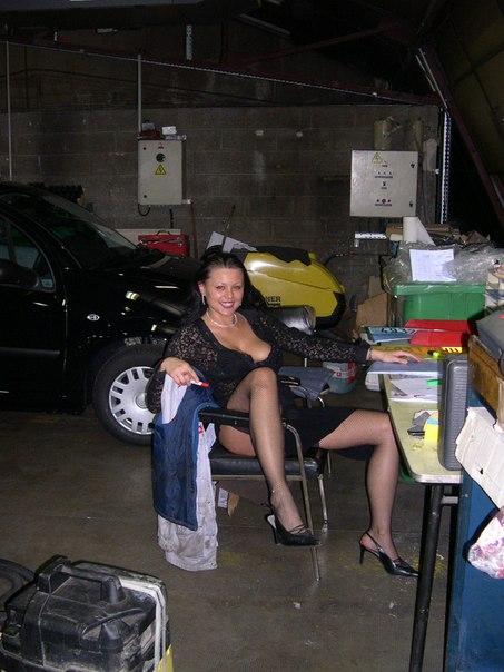 Латина отсосала за ремонт автомобиля