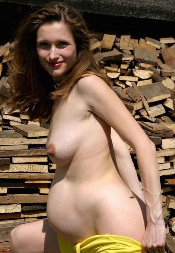 Голые фото беременных любительниц